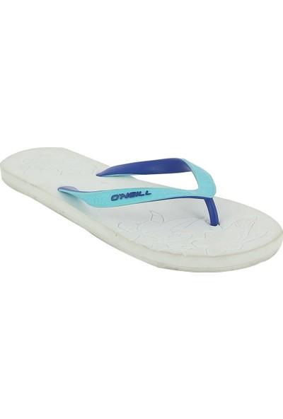 O'neill A-Traction Kadın Beyaz-Mavi Parmak Arası Terlik 309508-1010