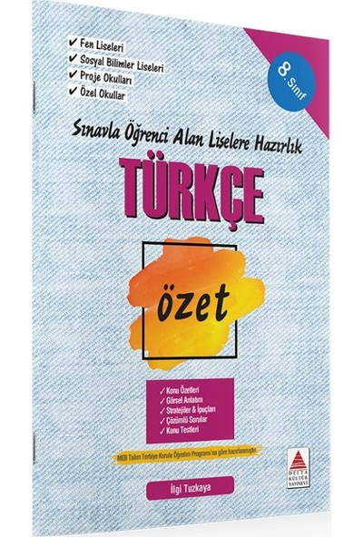 8. Sınıf Türkçe Özet Liselere Hazırlık