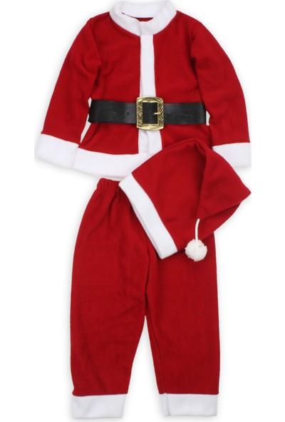Noel Erkek Bebek Noel Baba Kostümü