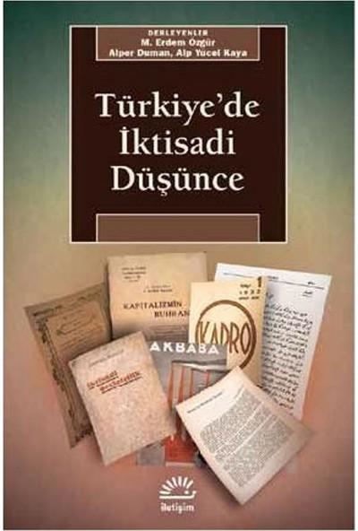 Türkiye'De İktisadi Düşünce