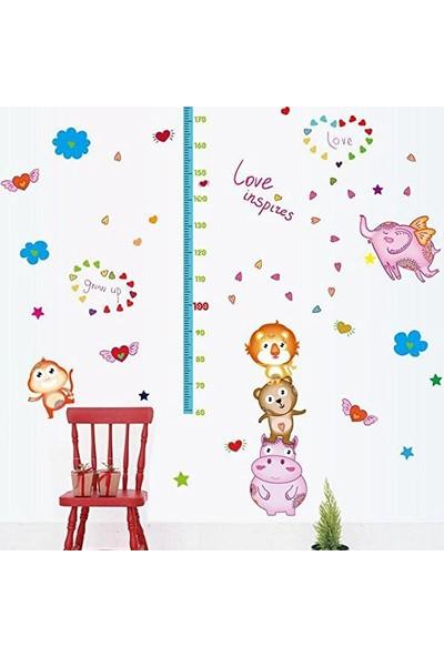 Crystal Kids Bebek ve Çocuk Odası Boy Ölçer PVC Duvar Sticker