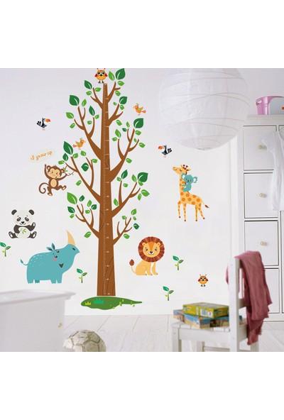 Crystal Kids Çocuk ve Bebek Odası Boy Ölçen XL PVC Duvar Sticker