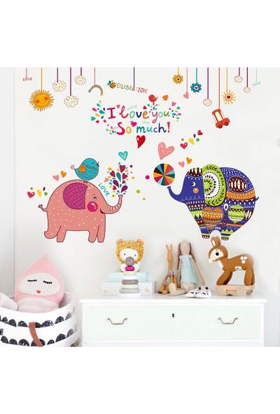 Crystal Kids Dekoratif Renkli Filler Çocuk ve Bebek Odası PVC Duvar Sticker