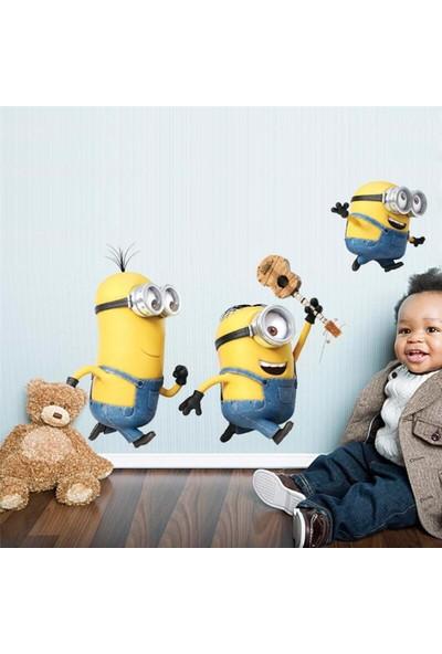 Crystal Kids Minyonlar Minions Bebek ve Çocuk Odası PVC Duvar Sticker