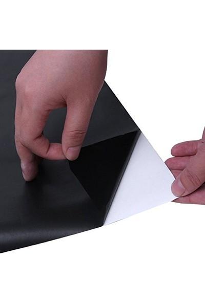 Crystal Kids Tebeşir İle Yazılıp Silinebilir 45 x 200 Cm Kara Tahta PVC Duvar Sticker