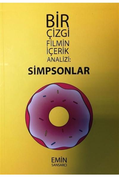 Simpsonlar:Bir Çizgi Filmin İçerik Analizi