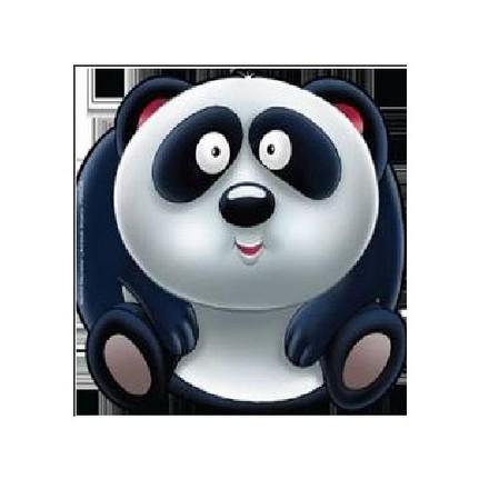 Sevimli Hayvanlar çıkartmalı Boyama Panda Kolektif Fiyatı