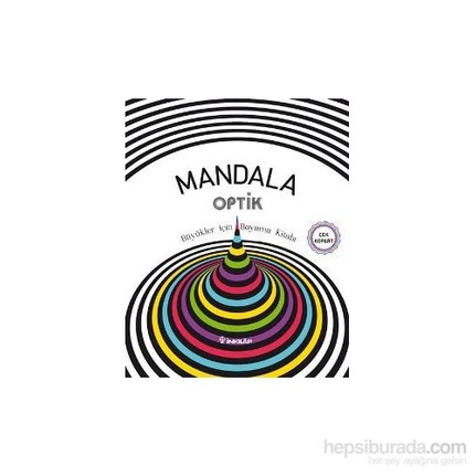 Mandala Optik Büyükler Için Boyama Kitabı Kolektif Fiyatı