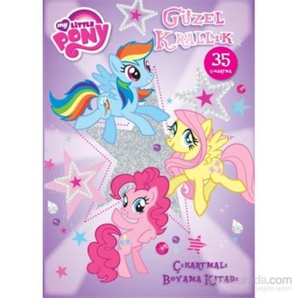 My Little Pony Güzel Krallık çıkartmalı Boyama Fiyatı