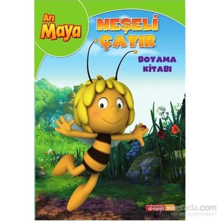 Arı Maya Neşeli çayır Boyama Kitabı Kolektif Fiyatı