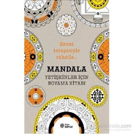 Mandala Yetişkinler Için Boyama Kitabı Sophie Leblanc Fiyatı