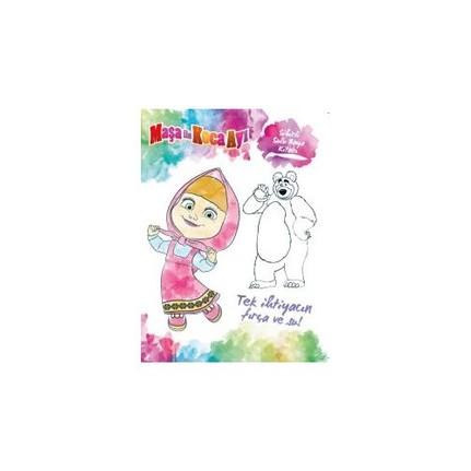 Maşa Ile Koca Ayı Sihirli Sulu Boya Kitabı Kolektif Fiyatı