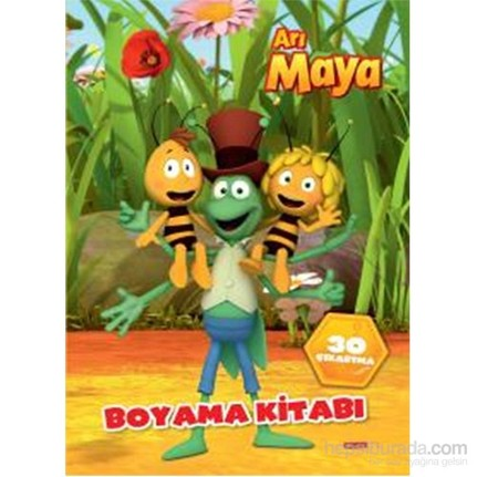 Arı Maya Boyama Kitabı Kolektif