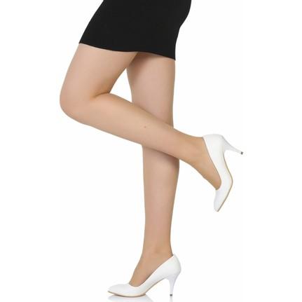 Sothe BA-1017 Deri Stiletto Topuklu Ayakkabı
