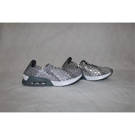 Shop and Shoes 121-SPRİNG13 Gümüş Simli Kadın Ayakkabı