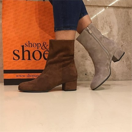 Shop and Shoes 104-20102 Taba Süet Bayan Bot