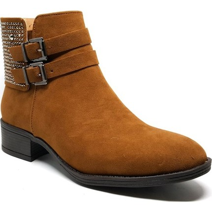 Shop and Shoes 171-503 Taba Süet Bayan Bot