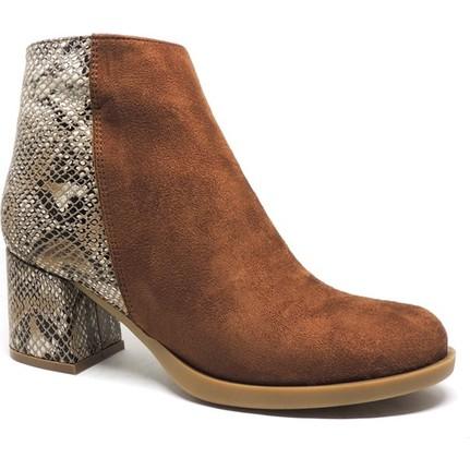 Shop and Shoes 173-20404 Taba Süet Bayan Bot