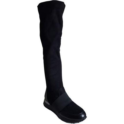 Shop and Shoes 015-SCR-226 Siyah Kadın Çizmesi
