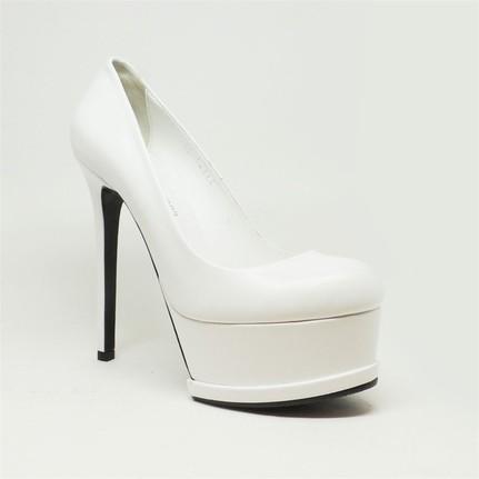 Shop and Shoes 005-215-7 Beyaz Kadın Ayakkabı
