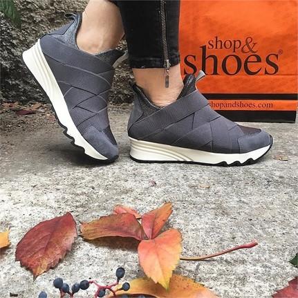 Shop and Shoes 165-4030 Gri Kadın Ayakkabı