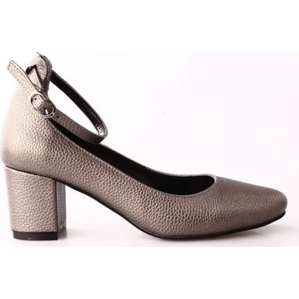 Dgn 431 Kadın Bilekten Bağlı Topuklu Ayakkabı