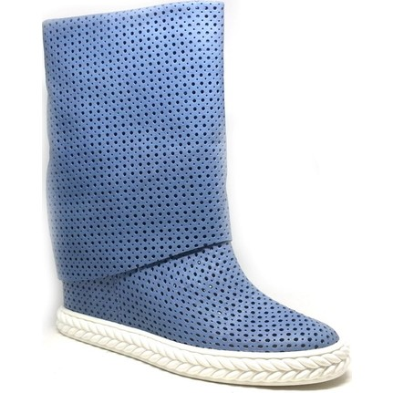 Shop And Shoes 122-0032-Y Mavi Kadın Bot