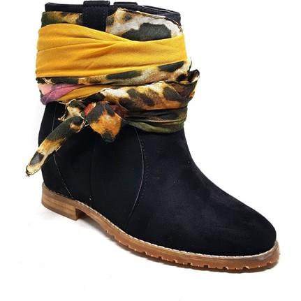 Shop And Shoes 155-200K Siyah Kadın Bot
