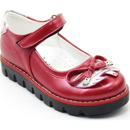 Ayakdaş 25 Kız Çocuk Fiyonklu Kız Ayakkabı Siyah