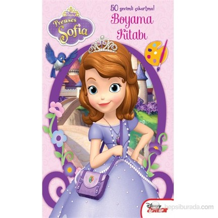 Prenses Sofia Resmi Boyama Boyama Sayfasi