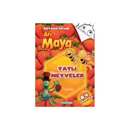 Ari Maya Tatli Meyveler Boyama Kitabi Kolektif Fiyati