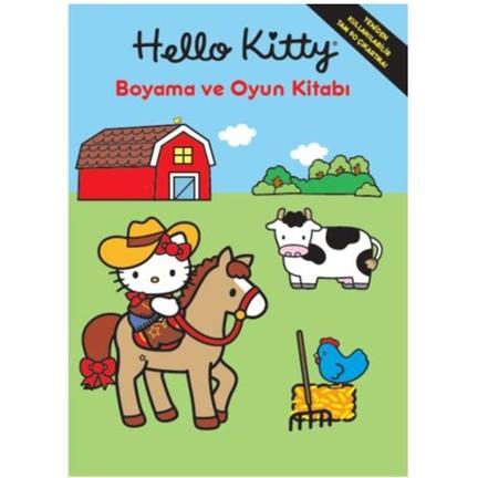 Hello Kitty Boyama Ve Oyun Kitabı Kolektif Fiyatı