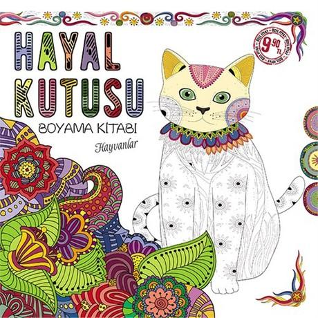 Hayal Kutusu Boyama Kitabi Hayvanlar Kolektif Fiyati