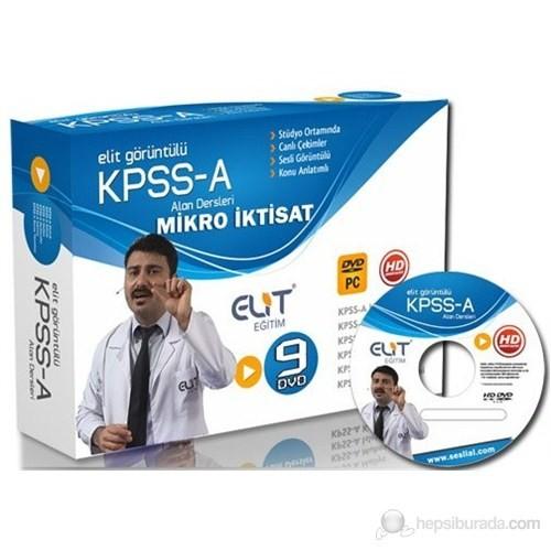 Elit KPSS Mikro İktisat Görüntülü Eğitim Seti