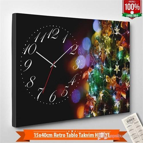 Tabloshop - Yılbaşı Özel Saat - Yb-05 - 45X30cm - Takvim Hediye