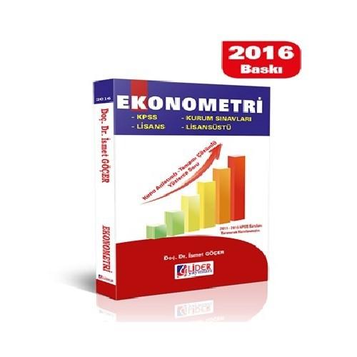 Lider Ekonometri Konu Anlatımı