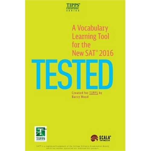 A Vocabulary Learning Tool For The 2016 New Sat 2016 Tested