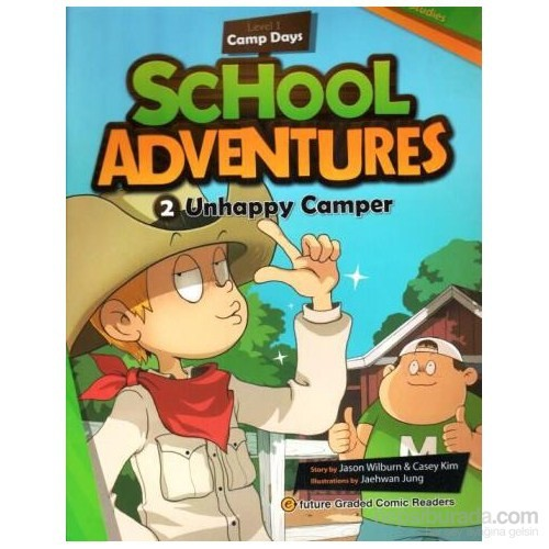 Unhappy Camper + Cd (School Adventures 1)