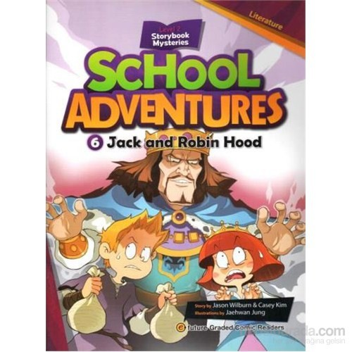 Jack And Robin Hood + Cd (School Adventures 2)