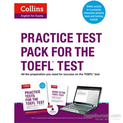 Collins Practice Test Pack for the TOEFL Test +MP3 CD