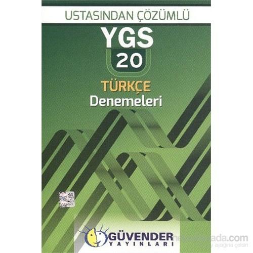 Güvender YGS Ustasından Çözümlü 20 Türkçe Denemeleri