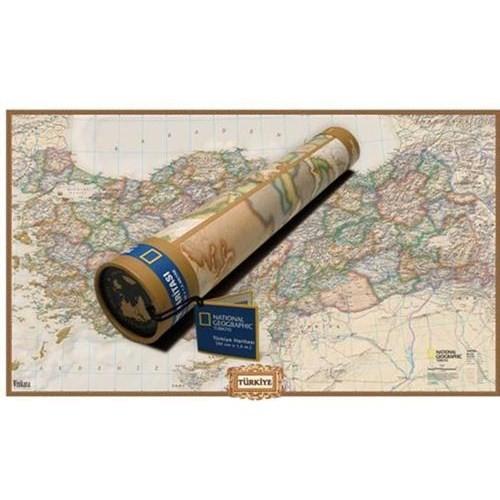 National Geographic Türkiye Haritası