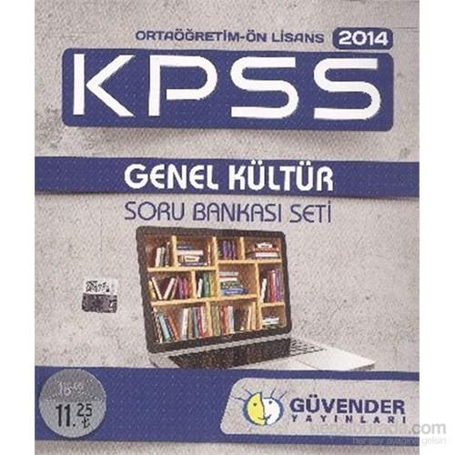 Güvender KPSS 2014 Ortaöğretim Ön Lisans Genel Kültür Soru Bankası Seti