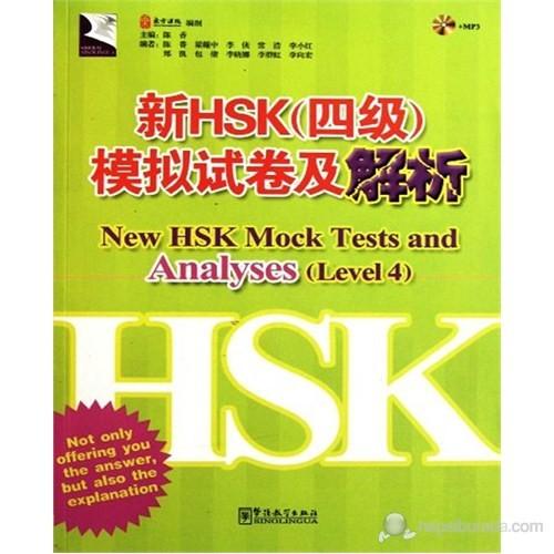 New HSK Mock Tests and Analyses Level 4 +MP3 CD (Çince Yeterlilik Sınavı)