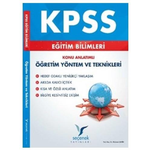 Seçenek Kpss Eğitim Bilimleri Öğretim Yöntem Ve Teknikleri Konu Anlatımlı