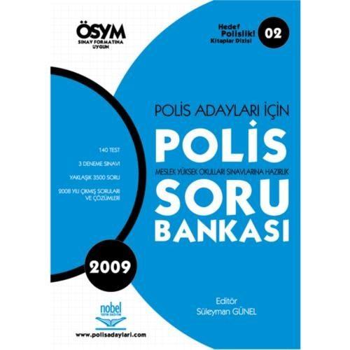 Polis Adayları İçin Polis Meslek Yüksek Okullarına Hazırlık Soru Bankası