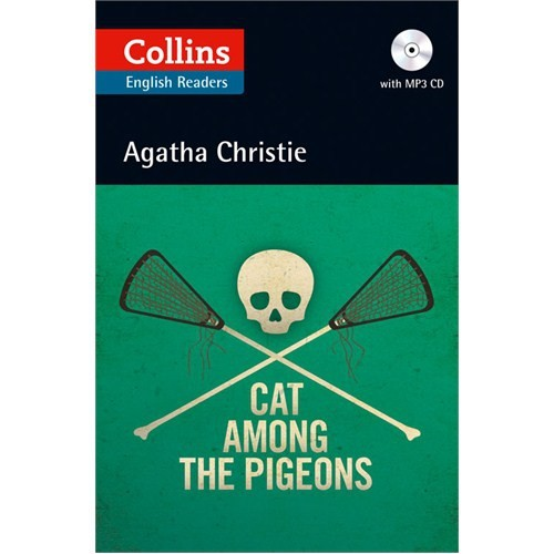 Cat Among the Pigeons +CD (Agatha Christie Readers)