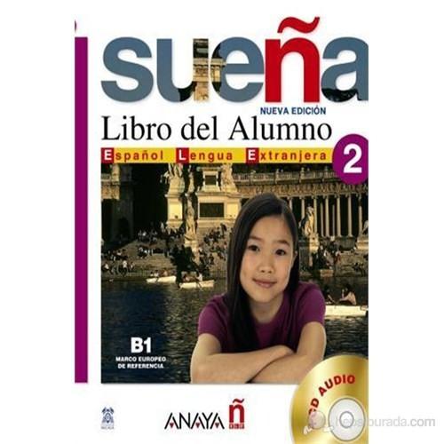 Sueña 2 B1 Libro del Alumno +2 CD (İspanyolca orta Seviye Ders Kitabı +CD)