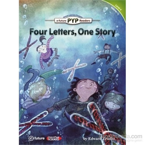 Four Letters, One Story (Pyp Readers 4)-Edward Zrudlo