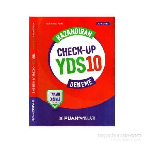 Puan YDS 2016 10 Deneme Tamamı Çözümlü Kazandıran Check Up